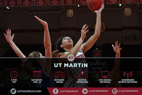 Austin Peay Women's Basketball faces UT Martin Saturday who is undefeated in the OVC. (APSU Sports Information)
