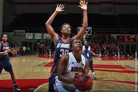 Austin Peay Women's Basketball loses to UT Martin Saturday. (APSU Sports Information)
