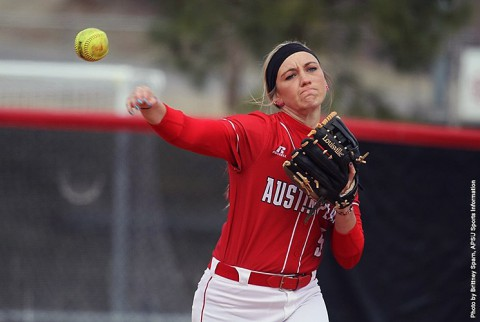 Austin Peay Lady Govs Softball loses two Friday to Miami Redhawks. (APSU Sports Information)