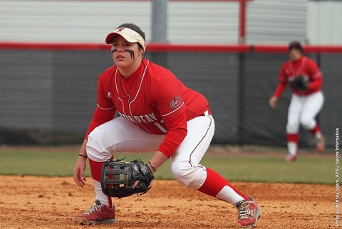 Austin Peay Softball looked rusty losing two games at Winthrop Adidas Tournament. (APSU Sports Information)