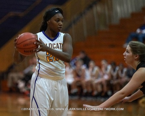 Clarksville High Girl's Basketball gets 60-38 win over Springfield.