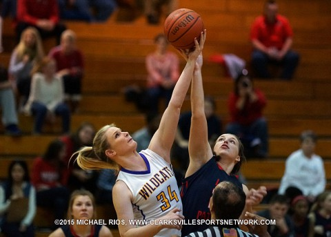 Clarksville High Girl's Basketball gets 46-40 win over Henry County Friday night.