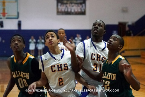Clarksville High Boy's Basketball beat Gallatin 70-48 in Region 5-AAA Quarterfinals.