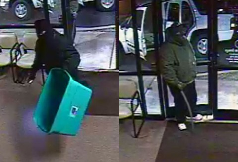 If you can identify the two suspects in this photo, please call etective Lifsey at 931.648.0656 Ext. 5298 or the CrimeStoppers TIPS Hotline at 931.645.TIPS (8477).