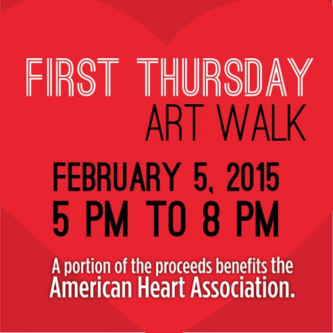February ArtWalk to benefit American Heart Association