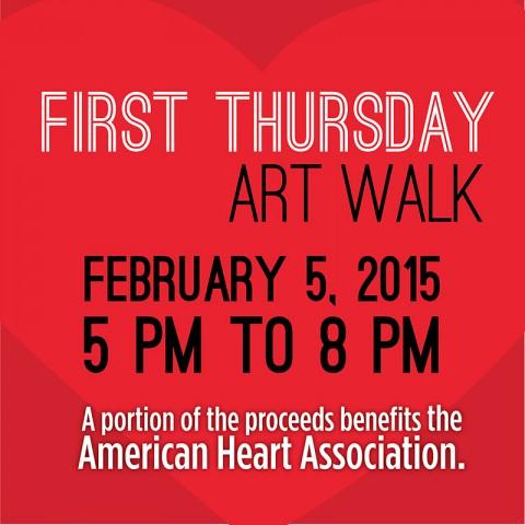 February ArtWalk to benefit American Heart Association