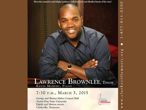 Lawrence Brownlee comes to Clarksville March 3rd, 2015