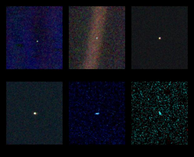 voyager 1 view of earth - photo #28