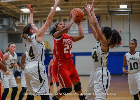 Rossview Middle Girl's Basketball season comes to a close with 43-31 loss to Christiana.