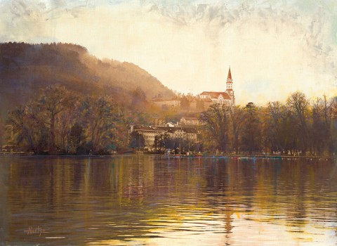 The Annecy France Nun Series by Anne Goetze Debuts at the Customs House Museum