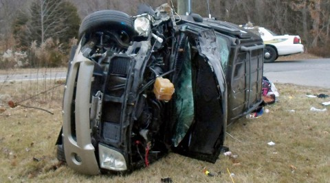 This past Saturday, a 2004 Mercury Mountaineer went off the road into a ditch.