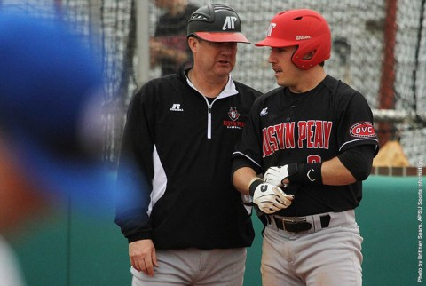 Austin Peay Baseball opens OVC Season with doubleheader sweep of Eastern Illinois. (APSU Sports Information)