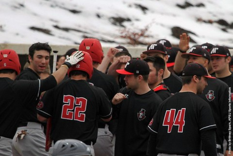 Austin Peay Baseball's OVC series with Jacksonville State moved to a Saturday start due to weather. (APSU Sports Information)