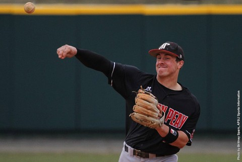Austin Peay Baseball drops game to Jacksonville State, 8-2. (APSU Sports Information)