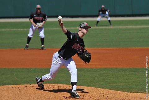 Austin Peay Baseball wins pitching duel against Murray State. (APSU Sports Information)