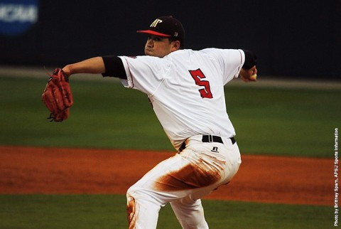 Austin Peay pitcher Alex Robles threw five hitless innings in 9-3 win over Tennessee Tech. (APSU Sports Information)
