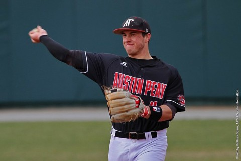 Austin Peay Baseball gets home win over Tennessee Tech. (APSU Sports Information)