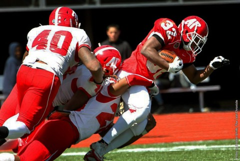 Austin Peay Football held first Spring Scrimmage, Saturday. (APSU Sports Information)