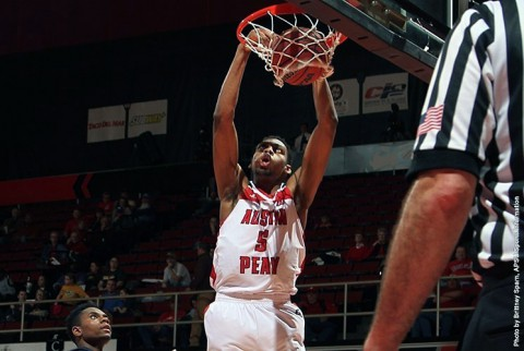 Austin Peay Governor Basketball's center Chris Horton averaged 13.1 points and 11.1 rebounds per game last season. (APSU Sports Information)