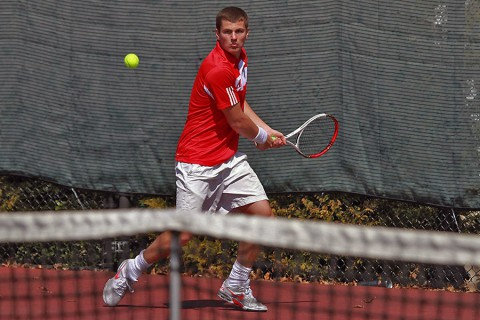Austin Peay Governors Dimitar Ristovski and Aleksas Tverijonas make OVC preseason Top 10. (APSU Sports Information)