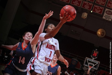 Austin Peay Women's Basketball guard Tiasha Gray. (APSU Sports Information)