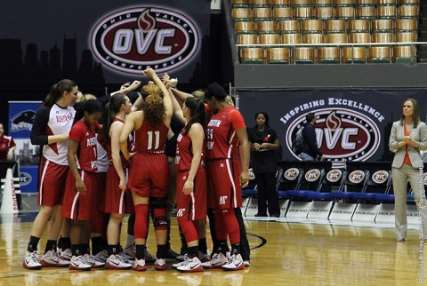 Austin Peay Women's Basketball comes up short at OVC Tournament. (APSU Sports Information)
