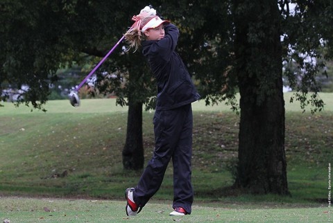 Austin Peay Womens Golf's Jessica Cathey ended the North Florida Intercollegiate with a 74. (APSU Sports Information)
