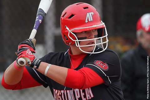 Austin Peay Softball loses 12-8 to Eastern Illinois Thursday. (APSU Sports Information)