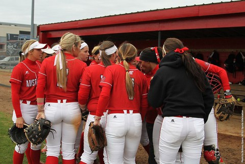 Austin Peay Softball takes on Samford in doubleheader action at Cheryl Holt Field Wednesday. (APSU Sports Information)