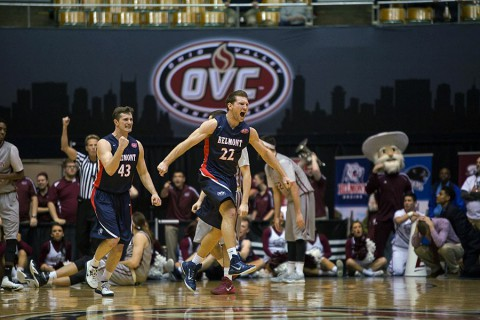 Belmont Men's Basketball advances to OVC Tournament Championship game with win over Eastern Kentucky. (BU Sports Information)