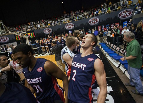 Belmont Bruins Basketball head to NCAA Tournament to face Virginia in Charlotte, NC. (BU Sports Information)