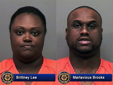 Brittney Lee and Martavious Brooks