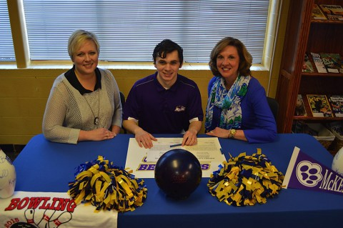 Bryan Dirksen Signs with McKendree University Monday morning.