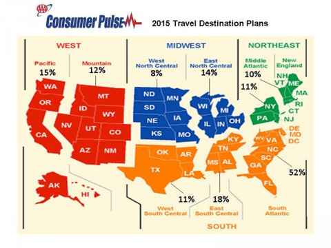 Consumer Pulse - 2015 Travel Destination Plans