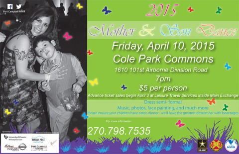 Fort Campbell MWR Mother and Son Dance