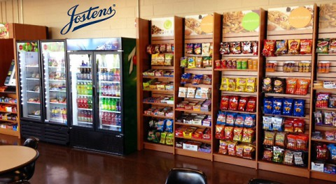 Five Star Food Service Micro-Market at Clarksville's Jostens.