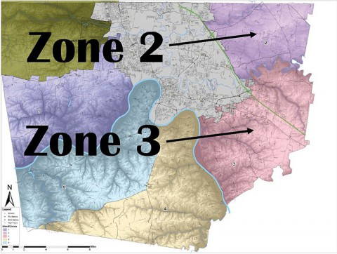 Montgomery County Zones 2 and 3