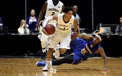 Murray State Men's Basketball escapes Morehead State to advance to OVC Tournament Championship. (OVC)