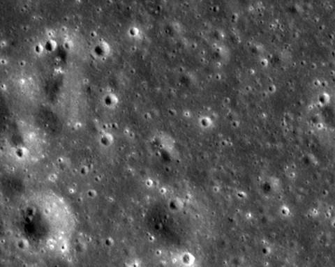This image was taken by  NASA's Lunar Reconnaissance Orbiter on February 12th, 2012. (NASA/Goddard Space Flight Center/Arizona State University)
