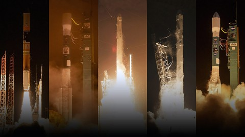 Over the past 12 months NASA has added five missions to its orbiting Earth-observing fleet - the biggest one-year increase in more than a decade. (NASA)