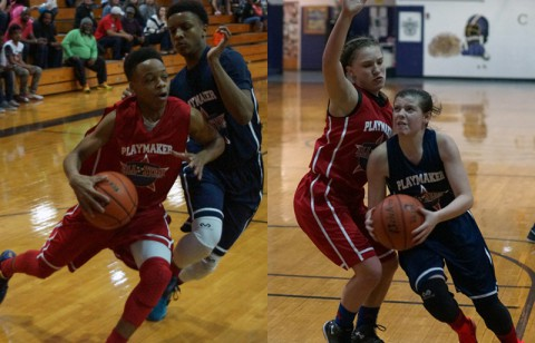 Playmaker Basketball Academy Middle School All-Star Game was held Saturday night at Clarksville High School's William Workman Gymnasium.