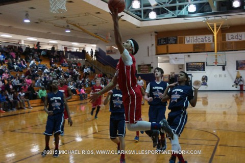 Playmaker Basketball Academy Middle School All-Star Boy's Game.