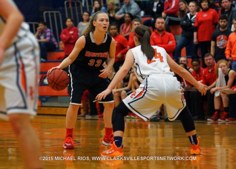 Rossview Girl's Basketball falls to Dickson County 59-52.
