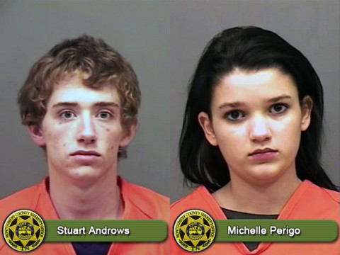 Stuart Androws and Michelle Perigo arrested after Montgomery County Sheriff's deputy hears gunshots