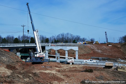 TDOT to close section of I-24 East Saturday for Bridge construction.