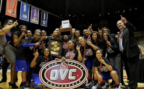 Tennessee State Women's Basketball win OVC Women's Basketball Tournament. (OVC)
