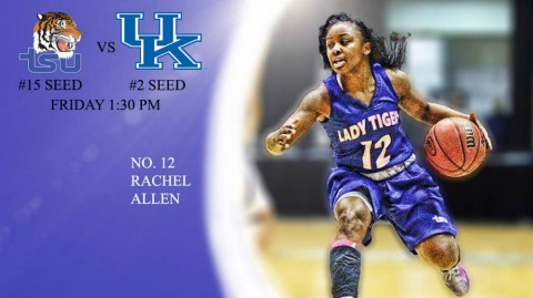 Tennessee State Lady Tigers take on Kentucky in opening round of NCAA Tournament. (TSU Sports Information)