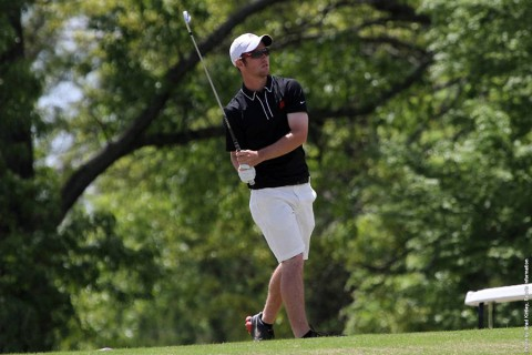 Austin Peay Golf's Chris Baker breaks 18-hole record at Grub Mart Intercollegiate. (APSU Sports Information)