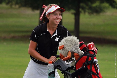 Austin Peay's Jessica Cathey shoots 75 during Day 1 of Ocala. (APSU Sports Information)