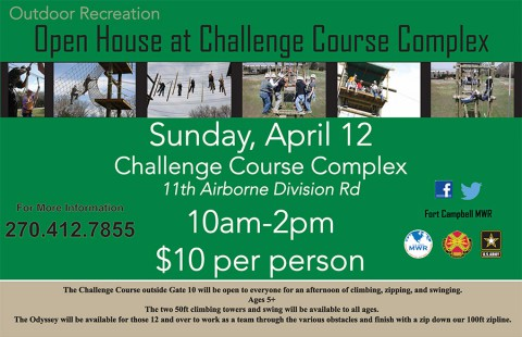 Challenge Course Complex Open House